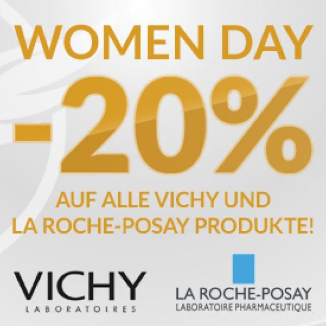 Women Day - -20% auf VICHY und LA ROCHE POSAY
