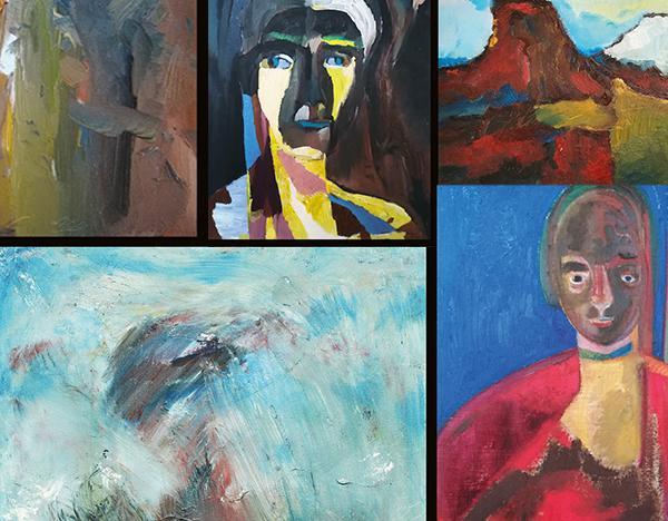 """Ausstellung """"ALLES OFFEN - Gemälde und Druckgrafik"""" in der AAgalerie"""