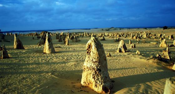 Pinnacles nahe Perth in Australien