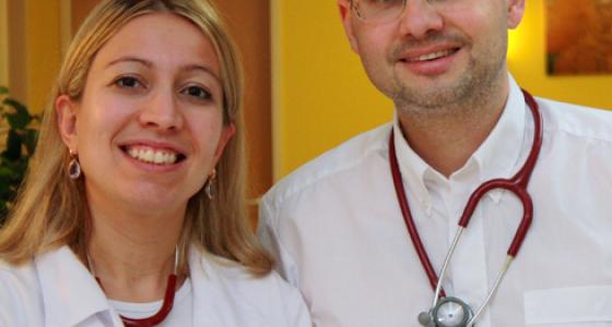 Frau Dr. med. Ludmilla Froschauer  und Herr Dr. med. Florian Froschauer