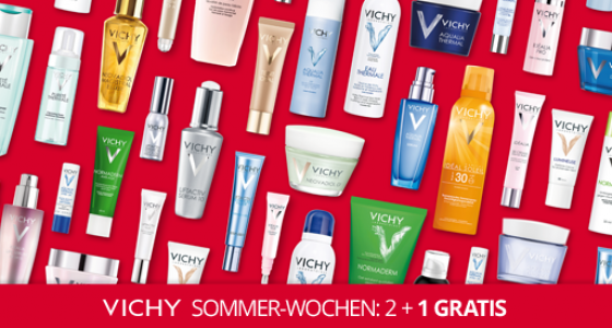 Vichy Sommerwochen 2015 - Adler Parfumerie